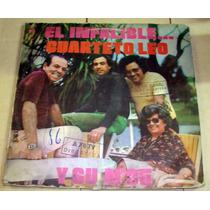 El Cuarteto Leo El Infalibre Y Su Nº35 Lp Argentino Promo