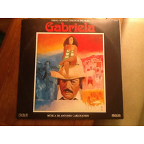 Jobim- Gal Costa Vinilo Gabriela Banda De Sonido Impecable