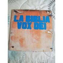Disco De Vinilo La Biblia De Vox Dei - 2 Lp - Rock Nacional