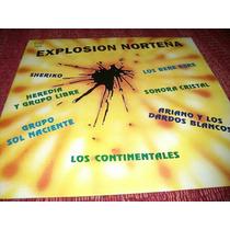 Disco Explosion Norteña Lp Nuevo