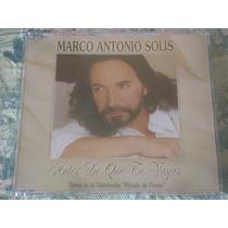 Marco Antonio Solis - Antes De Que Te Vayas (cd Single)
