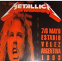 Dvd Metallica Live Estadio Velez Sarsfield Argentina 1993