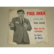 Disco Vinilo Doble Paul Anka - Adan Y Eva - Amor Juvenil