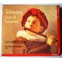 Telemann Suite & Conciertos Cd + Catalogo Excelente!!!