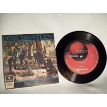 Disco Vinilo De Los Beatles + Tapa Conmemorativa Para Adorno