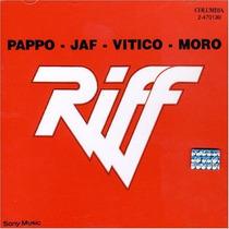 Cd Riff - Pappo Jaf Vitico Moro ( En Vivo ) Visitá Mi Eshop