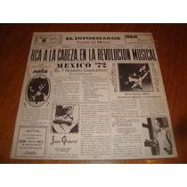 Revolucion Musical Mexico 72- Juan Gabriel/ Sola- Vinilo