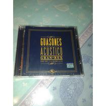 Cd Guasones Acustico Gran Rex Nuevo Y Cerrado