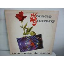 Horacio Guarany Canciones De Amor Vinilo Argentino Promo