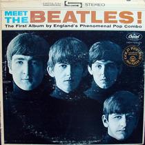 The Beatles Meet Usa Gold Record Award Lp Vinilo