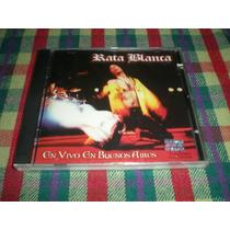 Rata Blanca / En Vivo En Buenos Aires - Nuevo-cerrado