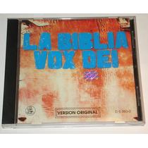 Vox Dei - La Biblia - Cd Original