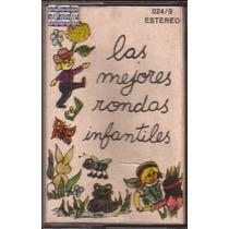 Las Mejores Rondas Infantiles Cassette 1982 Infantil Retro