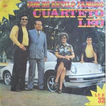Cuarteto Leo Con Su Estilo Famoso 1976 Lp 32 Vinilo Usado