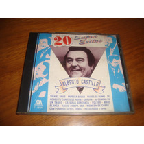Alberto Castillo - 20 Super Exitos - Cd Tango
