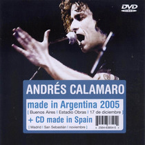 Andres Calamaro Made In Argentina 2005 ( Cd + Dvd )