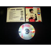 Andres Calamaro Nadie Sale Vivo De Aque Remaster Cd Nm+ 1red