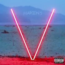 Maroon 5 V Lp Vinilo De Color Rojo Imp.new Cerrado En Stock