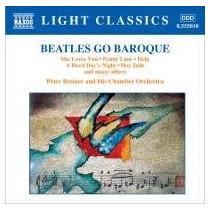 The Beatles Go Baroque - Light Classics - Naxos Cd Nuevo