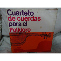 Manoenpez Vinilo Cuarteto De Cuerdas Folklore Papa