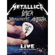Metallica/ Slayer/ Megadeth/ Anthrax The Big Four 2 Dvd