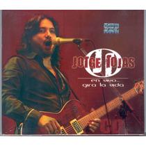 Jorge Rojas En Vivo Gira La Vida (cd) Zona Sur