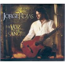 Jorge Rojas Mi Voz Y Mi Sangre (cd) Zona Sur