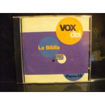 Vox Dei La Biblia Reversion Con Calamaro Paez Lerner Cd