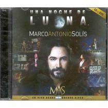Marco Antonio Solis - Una Noche De Luna (cd + Dvd)