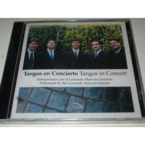Cd Leonardo Marconi Quinteto Tangos En Concierto (hijo)