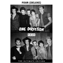 One Direction Four Deluxe Nuevo/ Original/ Disponible.-