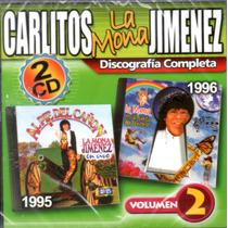 La Mona Jimenez Discografia Volumen 2 ( 2 Cd )