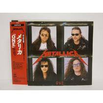 Metallica One Maxi Japones Cd Primera Edicion 1989 Raro
