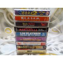 Lote Cumbia Y Cuarteto, Cassettes -precios Por Unidad