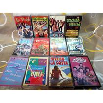 Lote Cumbia - 12 Cassettes Nuevos - Mickeys, Ternura, Mr Gat