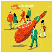 Andres Calamaro-jamon Del Medio- 2 Lp +cd Ed. Europea Stock