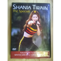 Dvd Shania Twain -the Specials $ 90-orig. Usado