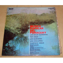 Musica Popular Del Paraguay - Papi Meza Soles Guaranies Lp
