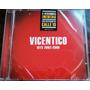 Vicentico Hits 2002 - 2008 Cd Nuevo Cerrado Oca Mp Me