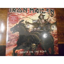 Iron Maiden-death On The Road-vinilo Doble Picture Import