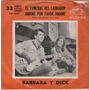 Barbara Y Dick Simple Vinilo 7 Con Tapa Argentina