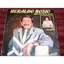 Disco Vinilo Heraldo Bosio - Agarrense De Las Manos