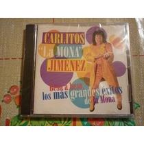 Cd Mona Jimenez. Los Más Grandes Éxitos. 2000. Edic Uruguay