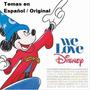 Cd We Love Disney - Temas De Peliculas En Español. Original.
