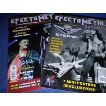 V8 Especial 30años Iorio - Hermetica 2 Revistas Efecto Metal