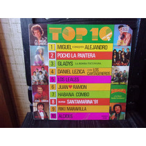 Vinilo Top 10 Vol 2 - Leales Alejandro Cartageneros Etc