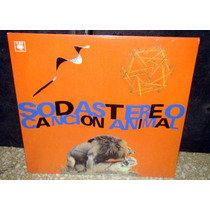 Soda Stereo Cancion Animal Lp Reedicion 2015 Sellado