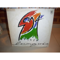 Vinilo Lp ( Excelente 1989 ) Soda Stereo - Languis