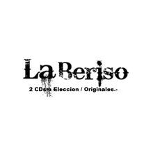 Lote 2 Cds A Eleccion - La Beriso - Originales / Sellados.-