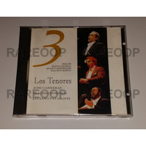 Los Tenores 3 (cd) Carreras Placido Domingo Pavarotti (españ